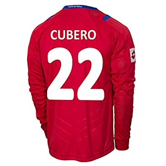 Buy Lotto CUBERO #22 Costa Rica Home Jersey World Cup 2014 (Long Sleeve) by Lotto