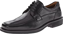 Ecco Men\'s Seattle Apron Toe Oxford,Black,44 EU (US Men\'s 10-10.5 M)