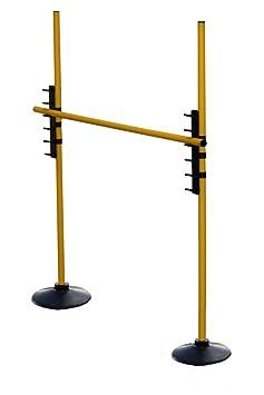 gelb Slalomstange mit Vollgummi-Standfuß Stange 100 cm Farbe