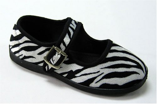 Buy Girls Mod Zebra Print Mary Janes Shoes Black and White