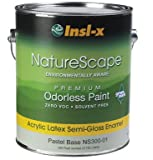 Insl-X Acrylic Latex Paint Interior Semi Gloss Pastel Base 0 Voc 2 Hr