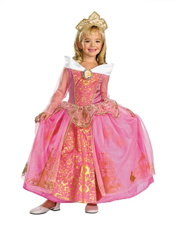Costumes For All Occasions DG50496L Aurora Prestige Child 4-6