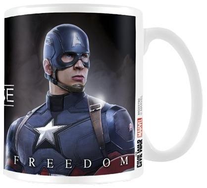 Captain America della guerra civile scegliere un lato Tazza in ceramica, multicolore