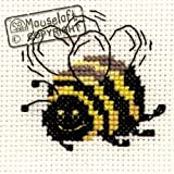 Mouseloft Mini Cross Stitch Kit Bee Stitchlets Collection