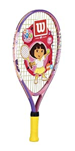 "Wilson Dora 19"" Youth Tennis Racquet"