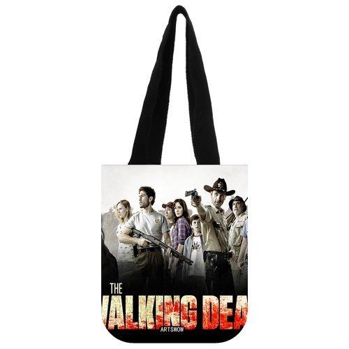 """ARTSWOW The Walking Dead Storage Grocery Custom Tote Bag-Borsa a tracolla da viaggio, 03 (entrambi i lati), Tela, color-5, 12.2"""" x 11"""" x 3.3"""""""