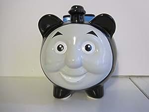 Amazon Com Thomas The Tank Engine 1 Blue Ceramic Piggy