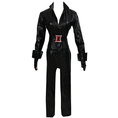 Tasso Marvel's The Avengers Black Widow Black Clothes Cosplay Costume-Custom Made