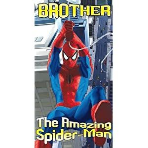 Spiderman Birthday Card to a Brother size 125 x 234mm: