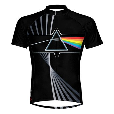 Image of Primal Wear 2012 Men's Pink Floyd Prism Short Sleeve Cycling Jersey - PFP1J20M (B00659TRVI)