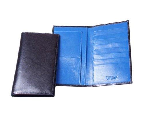 Sage Brown Genuine Leather Ultra Slim Suit Wallet