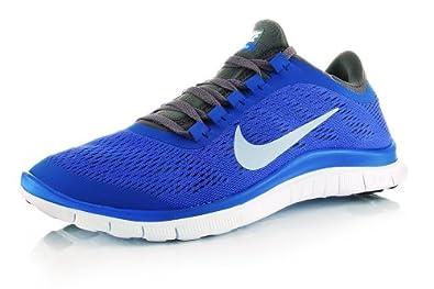 Womens Nike Free 3.0 V5 Running Shoes Violet Force Blue Sz 12