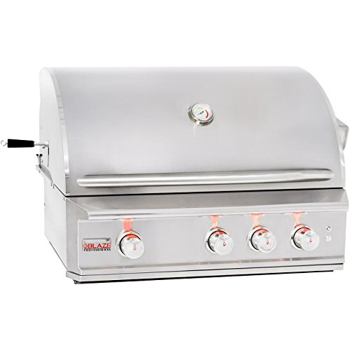 "34"" Professional Grill with 3 Burners Fuel Type: Natural Gas"