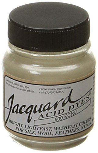 Jacquard Acid Dyes 1/2 Ounce-Ecru (Ecru Dye compare prices)