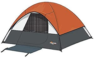 Mountain Trails Twin Peaks 7- by 7-Foot, 3 to 4-Person Sport Dome Tent from Wenzel