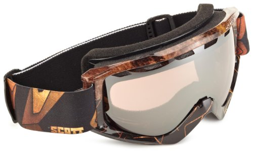 Scott Uni Skibrille Sanction, slab rust silver chr, One size, 2204232830015