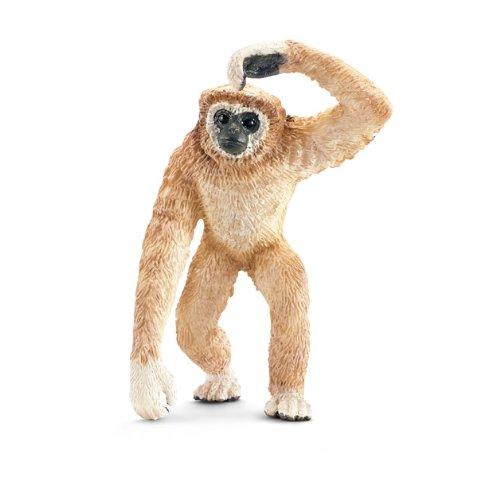 Schleich Adult Gibbon Toy Figure - 1