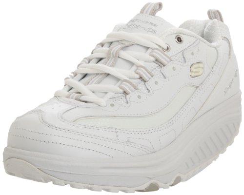 Skechers Women's Shape Ups Metabolize White/Silver 11800 WSL 7 UK