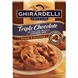 Ghirardelli Triple Chocolate Cookie Mix 35oz Box