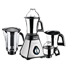 Preethi Steele 600-Watt Mixer Grinder with Super Extractor
