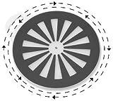 "Safety Sure® Pivot Disc - 15"" Diameter"
