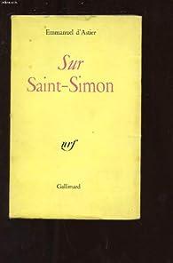 Sur saint-simon par Emmanuel d\' Astier de La Vigerie