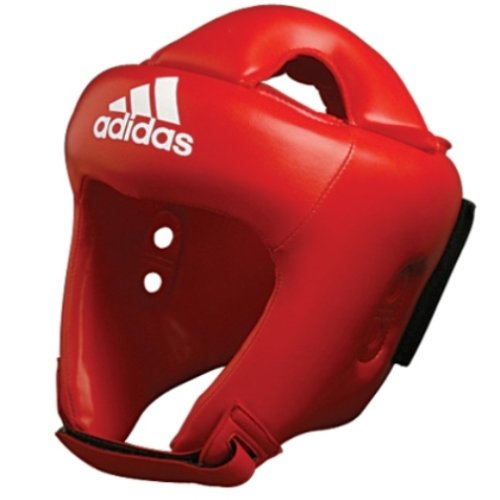 Adidas Rookie Boxing Head Guard CE - Red - Medium