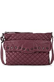 Limited Edition Quilted & Studded Cross-Body Bag [T83-7074L-S]