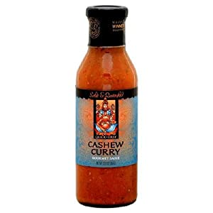 Sable & Rosenfeld, Sauce Cashew Curry, 12.8 OZ (Pack of 12)