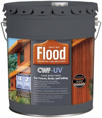 Flood 5 Gallon Redwood CWF-UV Wood finish - FLD421-05 5G
