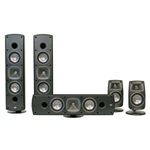 Klipsch Quintet SL Home Theater System (Set of Five, Black)