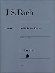 Italian Concerto Bwv 971 - Piano - Hn 160 by G. Henle Verlag