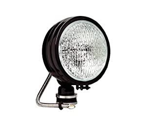 KC HiLiTES 1609 Daylighter Black 100w Single Flood Light with Cover
