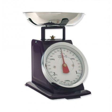 Balance de cuisine mécanique violet