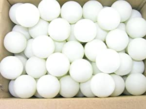 BREWSKI BROTHERS Beer Pong Balls (Pack of 144), White