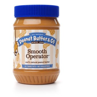 Peanut Butter & Co. Peanut Butter, Smooth Operator, 16-Ounce Jars (Pack of 6)