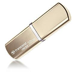 Transcend JetFlash 820 32GB Pen Drive (Gold)