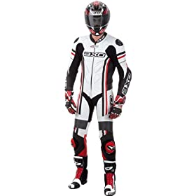 AXO Indy Leather Suit (White, 46 US)