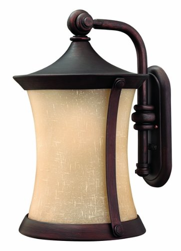 """Hinkley Lighting H1285 20.5"""" Height 1 Light Lantern Outdoor Wall Sconce From The, Victorian Bronze"""