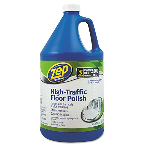 Zep Commercial High Traffic Floor Finish , Clear, Green (Floor Wax compare prices)
