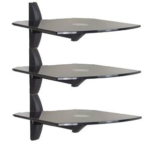 Invision® Premium Ultra-Modern AV Wall Mounted Triple ...