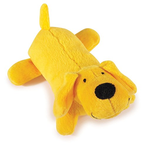 Zanies Neon Lil' Yelper Dog Toys, Yellow, 5""