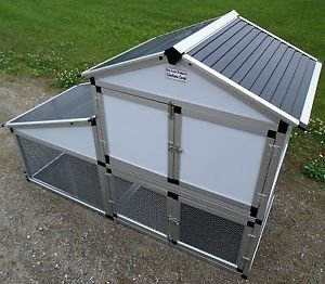 Eminetshop Backyard Chicken Coop Poultry Hen Layer Cage Run House (Large Chicken Coops Amish Made compare prices)