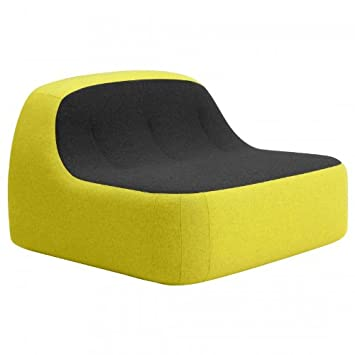 Sand Armchair black/yellow/fabrics felt 610/847