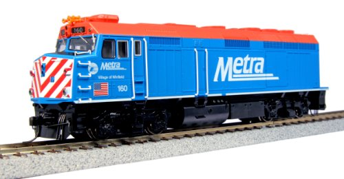 Kato USA Model Train Products 160 EMD F40PH Chicago Metra Village of Winfield Locomotive