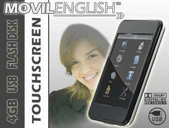 Movil English, Curso de Ingles en MP5, Movilenglish
