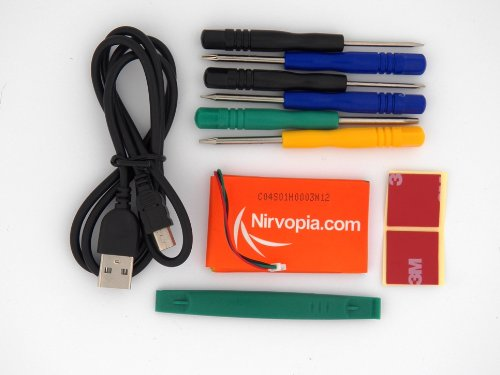 Nirvopia LBP-GN400A Garmin Extended Battery Pack