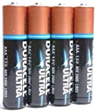 Duracell Duracell 4312080 Duracell Ultra M3 Batteries 1.5V MN2400 AAA Pack of 4