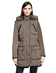 Autograph Luxury Padded Parka with Stormwear™