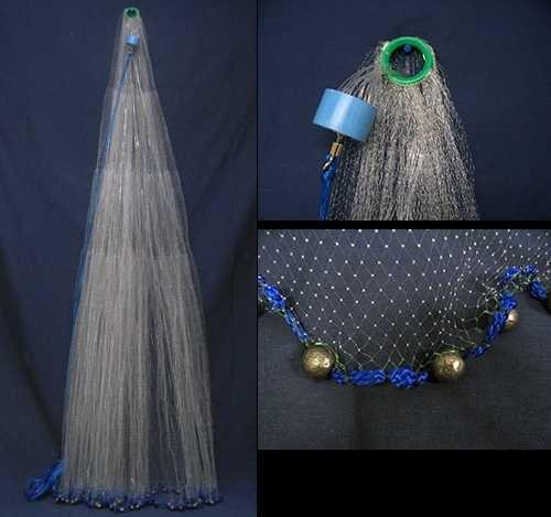 Joy Fish Mono Bait Cast Net (1/2